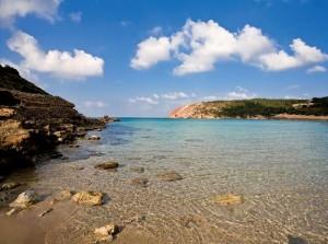 playa de la vall isla menorca