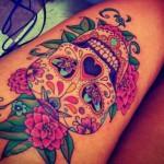 tatuaje de color en brazo