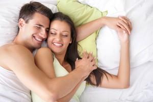 ir a dormir juntos pareja