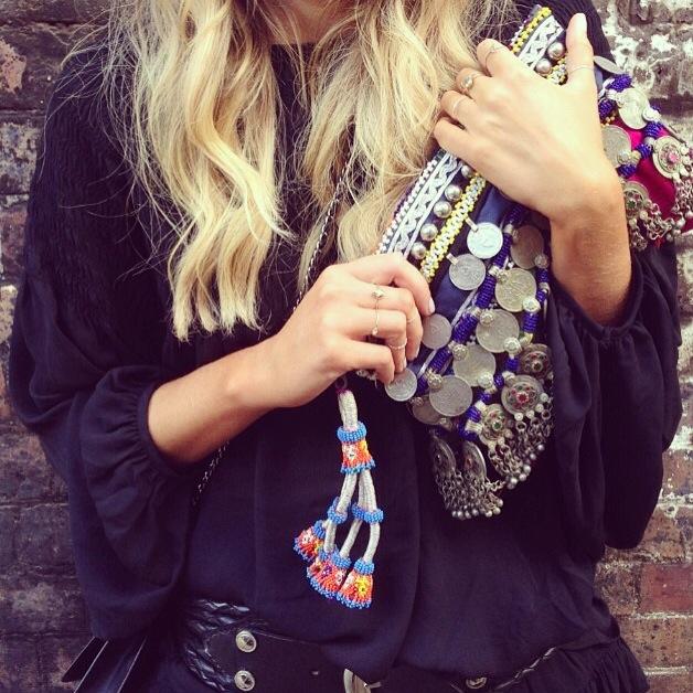 vestir hippie