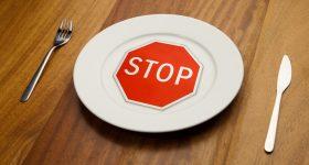 dejar de comer