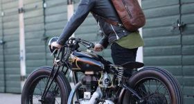 ir en moto sin casco